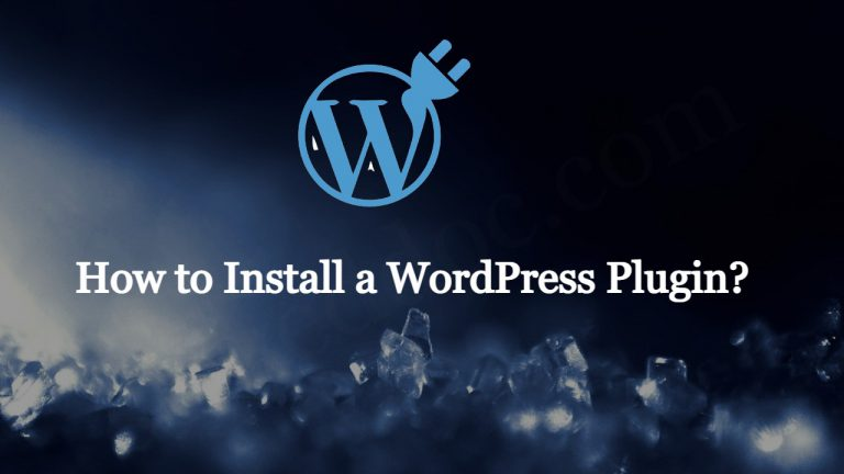 Read more about the article How to Install a WordPress Plugin?