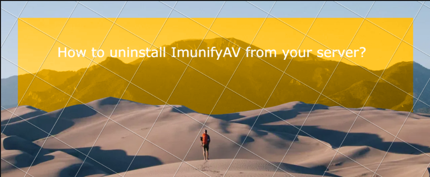 You are currently viewing How to uninstall ImunifyAV from your server?